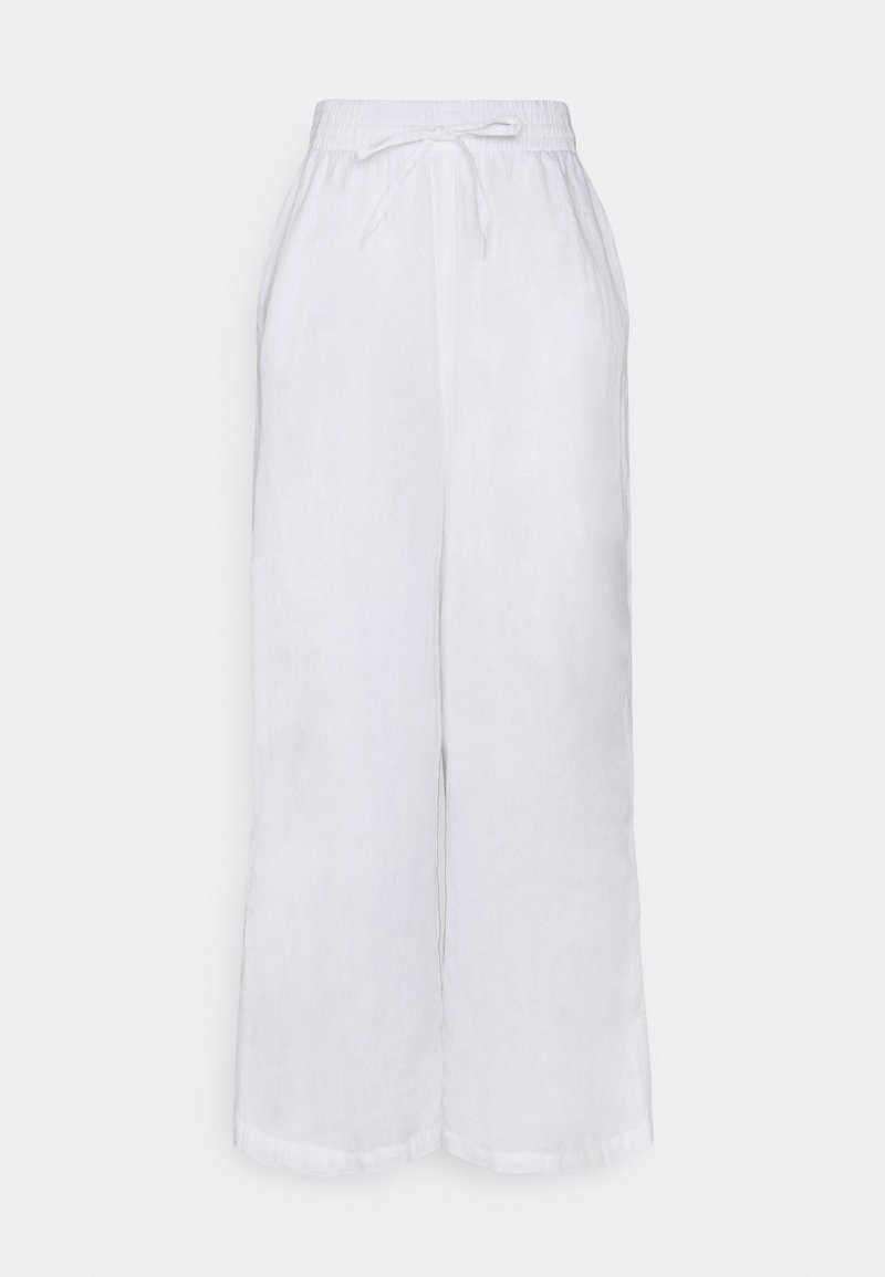 Gina Tricot - DISA TROUSERS - Tygbyxor - offwhite