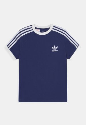 STRIPES TEE - T-shirt imprimé - night sky/white