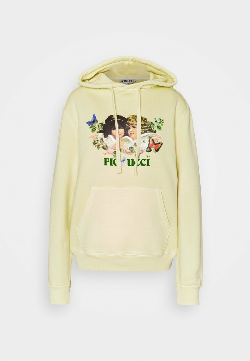Fiorucci - WOODLAND VINTAGE ANGELS HOODIE HONEY SUCKLE - Felpa - yellow