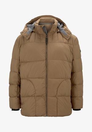 Winter jacket - toasted coconut