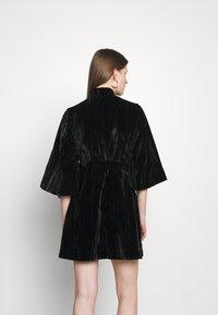 Alexa Chung - KIMONO WRAP DRESS - Koktejlové šaty/ šaty na párty - black - 2