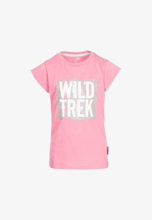 ARRIINA - Print T-shirt - pink