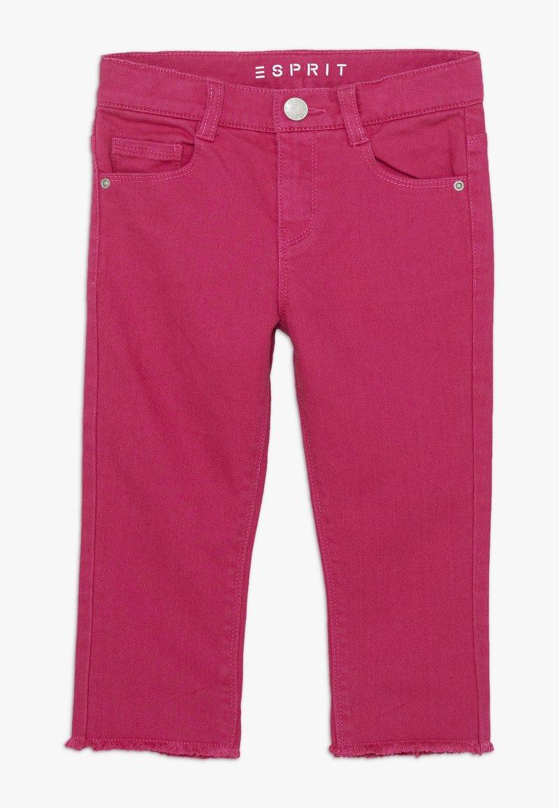 Esprit - DIVERS - Džíny Straight Fit - tropical pink