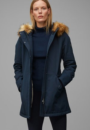 Winter coat - midnight blue