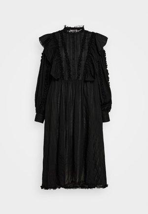 INA - Skjortekjole - black