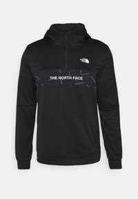 The North Face - TRAIN LOGO ZIP HOODIE - Kapuzenpullover - black - 0