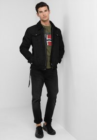 Be Edgy - BEKELVYN  - Kurtka jeansowa - black used - 1