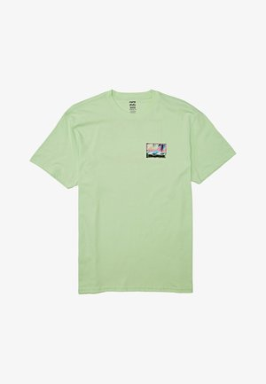 NOSARA - Print T-shirt - cool mint
