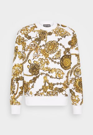 PRINT REGALIA BAROQUE - Sweatshirt - bianco + gold