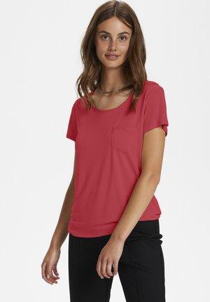 COLUMBINE  - T-shirt basic - cardinal