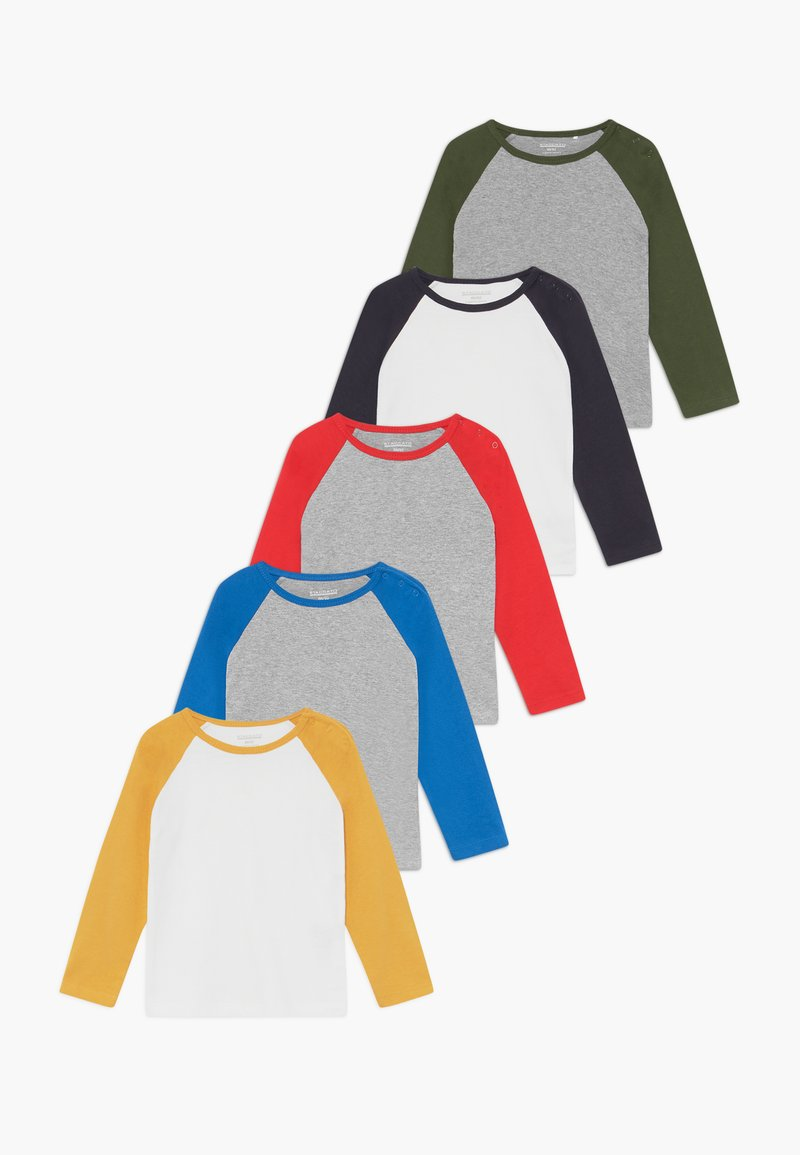 Staccato - 5 PACK  - T-shirt à manches longues - multi-coloured