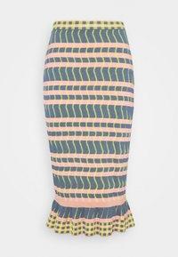 Diane von Furstenberg - SKIRT - Pencil skirt - pink - 0