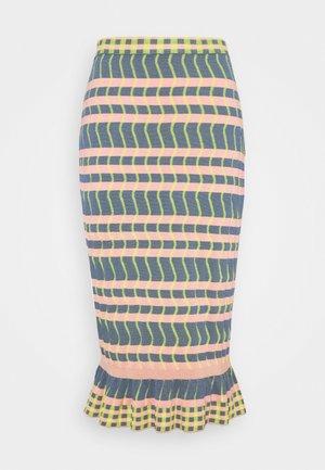 SKIRT - Pouzdrová sukně - pink