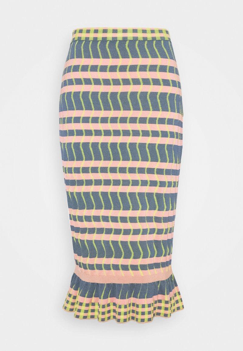 Diane von Furstenberg - SKIRT - Pencil skirt - pink