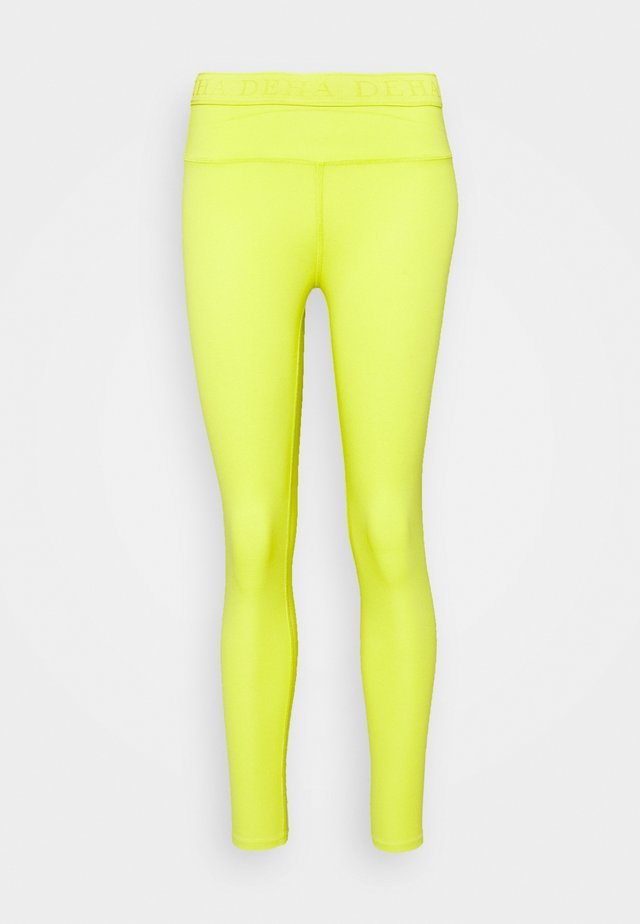 LEGGINGS - Tights - lime yellow