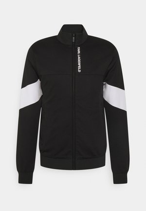 ZIP JACKET - Sweatjacke - black