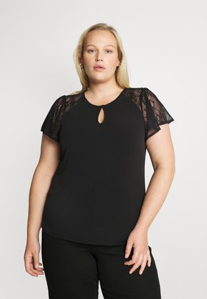 VMBRIANNA - Print T-shirt - black