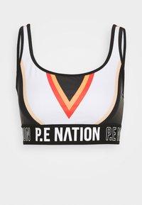 ZONE IN SPORTS BRA - Medium support sports bra - black
