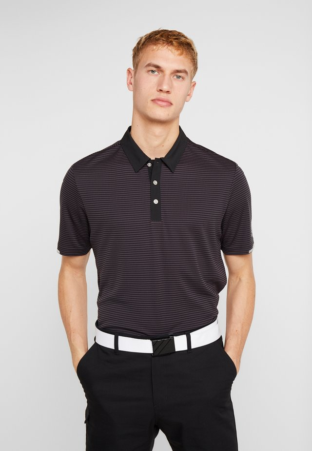 HEAT RDY STRIPE - Sports shirt - black/carbon