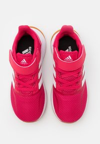 adidas Performance - RUNFALCON UNISEX - Neutral running shoes - power pink/footwear white - 3