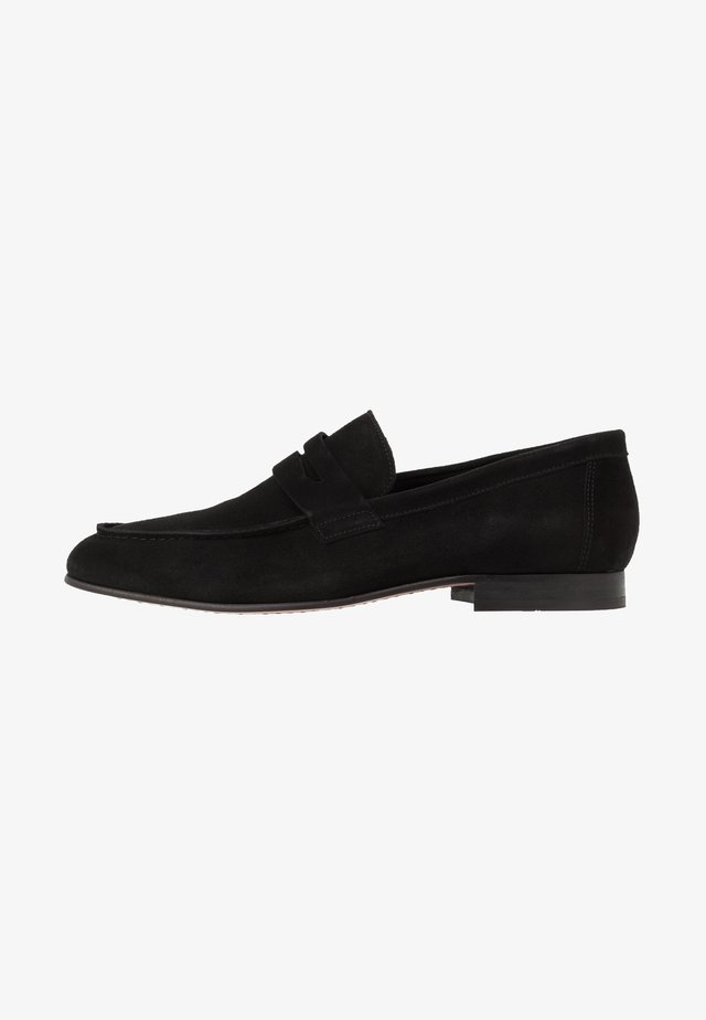 SLHSTEVE - Mocassins - black