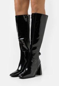 RAID Wide Fit - WIDE FIT DONITA - Boots - black - 0