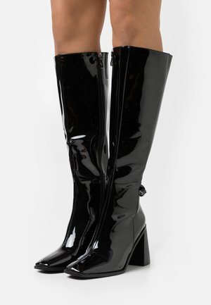 WIDE FIT DONITA - Boots - black