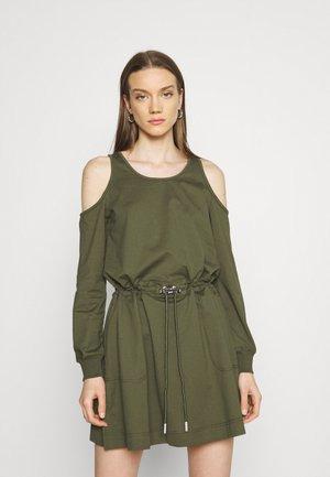 D-TOCKS - Day dress - olive