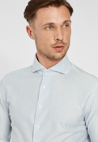 PROFUOMO - JAPANESE KNITTED - Shirt - blue - 3