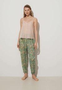 OYSHO - Pyjama bottoms - green - 1