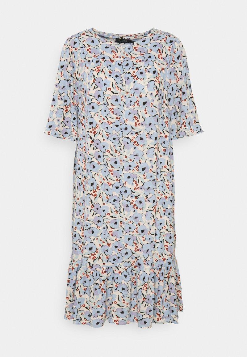 Soaked in Luxury - SLIDE DRESS - Kjole - blue