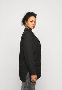 Missguided Plus - DOUBLE BREASTED - Blazer - black - 4