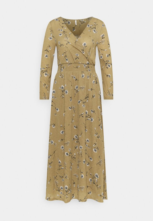 ONLPELLA DRESS TALL - Trikoomekko - elmwood
