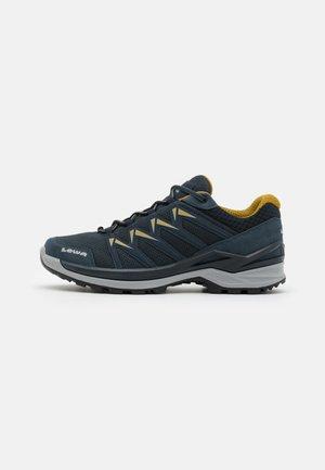 INNOX PRO  - Hiking shoes - stahlblau/senf