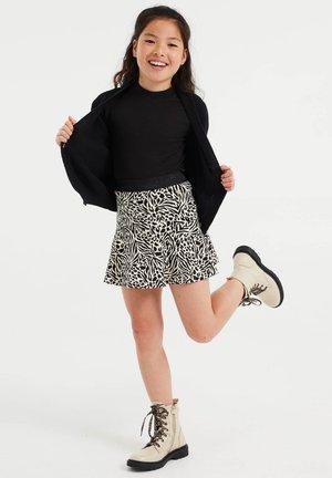 MET DESSIN - Minifalda - off white