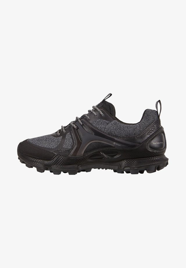 BIOM C-TRAIL W LOW TEX - Trainers - black/titanium