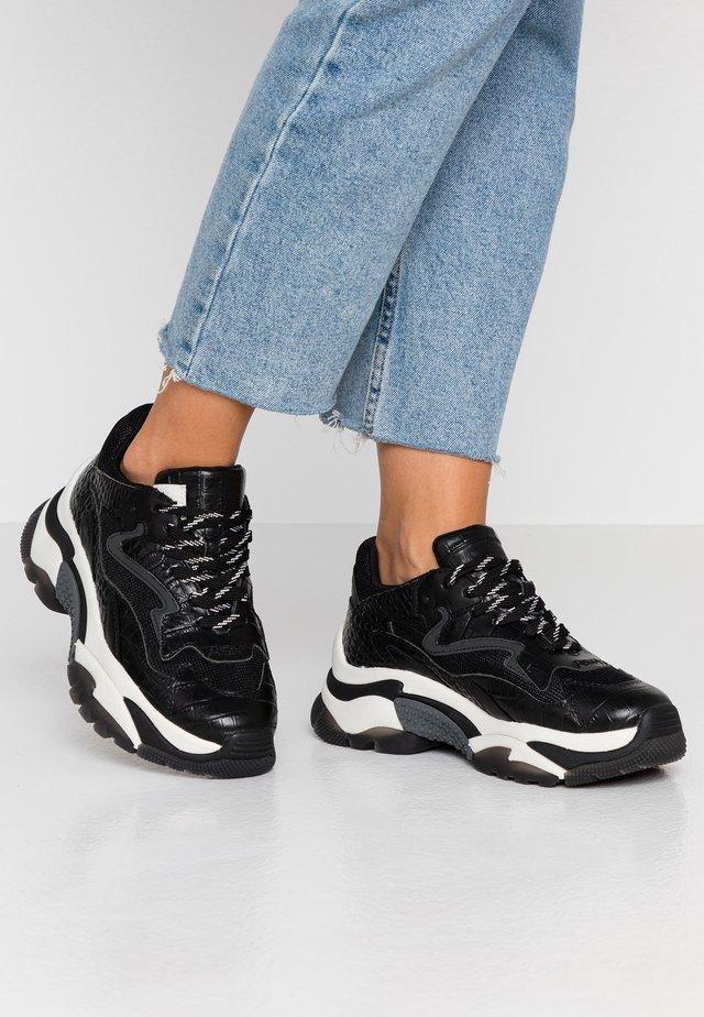 ADDICT - Sneakers basse - cocco mirbat black