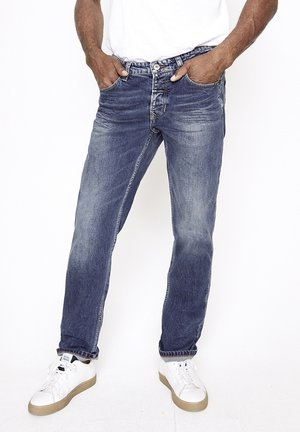 LUUK Z - Slim fit jeans - mittelblau