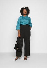 Persona by Marina Rinaldi - BALSA - Button-down blouse - turquoise - 1