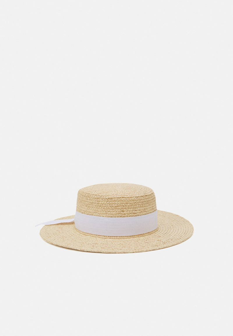 Forever New - JULIA BOATER HAT - Hat - natural/ white