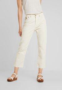LOIS Jeans - WENDY - Trousers - ecru - 0
