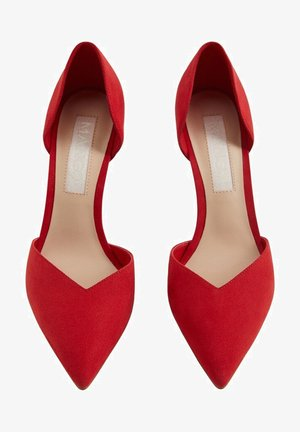 Klassieke pumps - rot