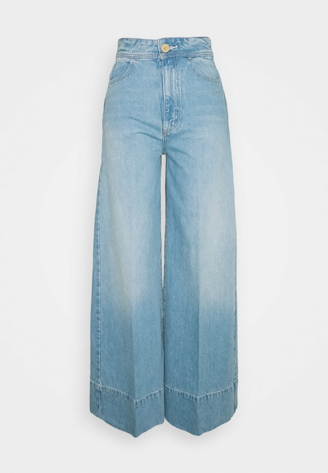 TALIA TROUSER - Široké džíny - bright blue