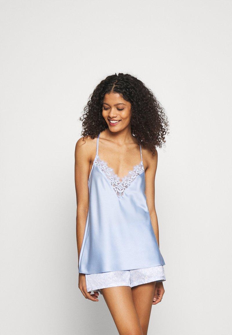 Etam - ROMARIN TOP - Haut de pyjama - bleu azur