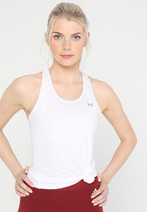 RACER TANK - Sports shirt - white