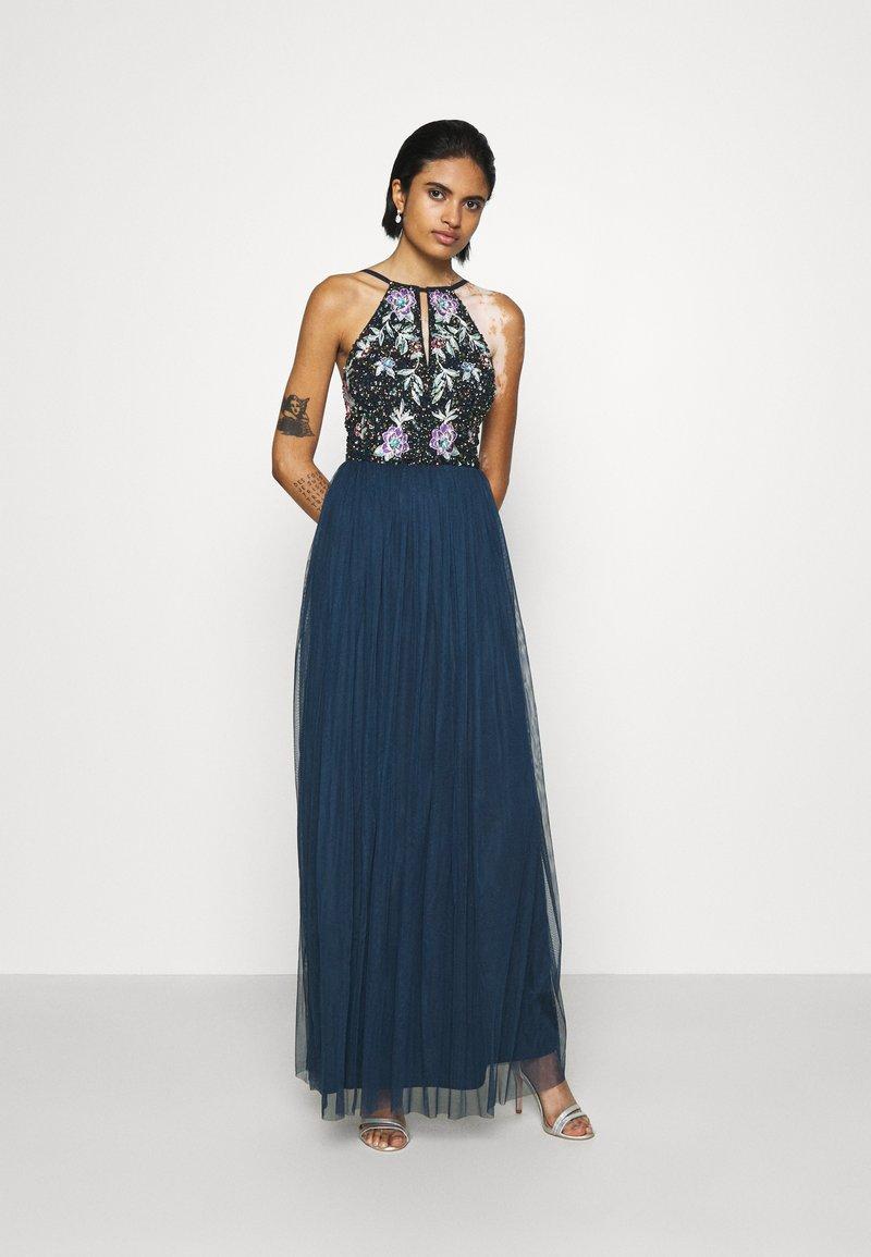 Lace & Beads - FLOY MAXI - Vestido de fiesta - navy