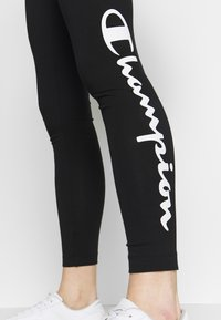 Champion - LEGGINGS - Trikoot - black - 5