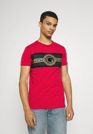RAMIO TEE - T-shirt print - red