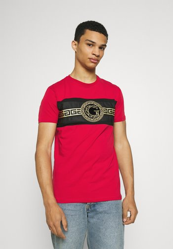 RAMIO TEE - Print T-shirt - red
