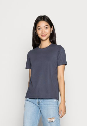 VMRUBA O NECK TEE  - T-shirts - ombre blue